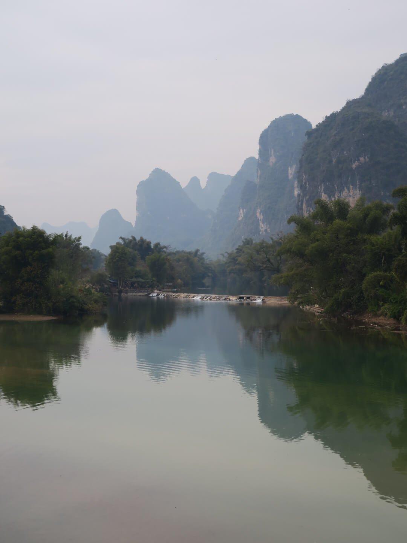 Szenerie am Li Fluss