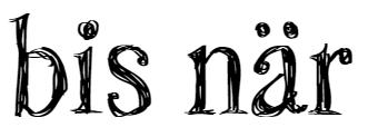 Bis när Logo